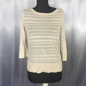 Banana Republic women 3/4 sleeve sweater